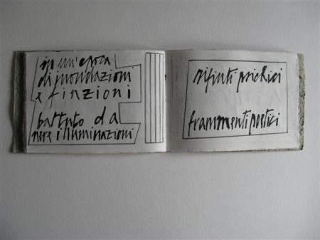 La Poesia Visiva in Italia, 5 • Giancarlo Pavanello